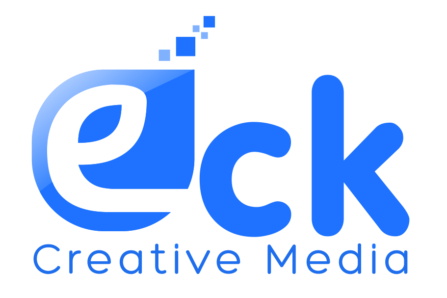 EckCreativeMedia Logo Blue